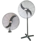 Sonic industrial wall stand fans spv portable blower